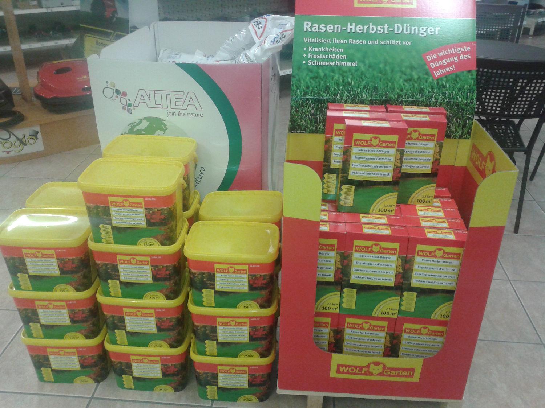 prato verde prodotti giardinaggio