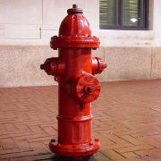 Downtown Charlottesville fire hydrant